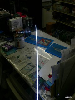 ガラスショーケース照明